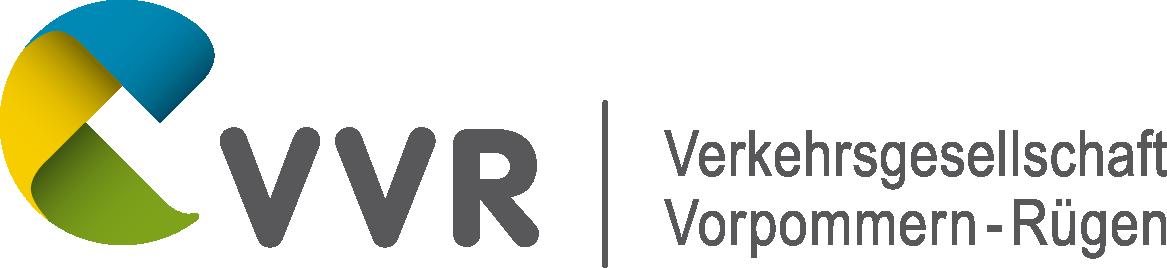Logo von Verkehrsgesellschaft Vorpommern-Rügen mbH (VVR)